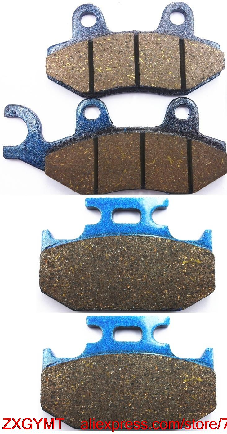 Motorcycle Resin Brake Shoe Pads Set fit SUZUKI DR250 DR 250 L,M,N,EP,ER,ES 1990 - 1995