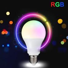 Bright LED Bulb Light E27 3W 5W 10W RGB Stage Lamp Remote AC