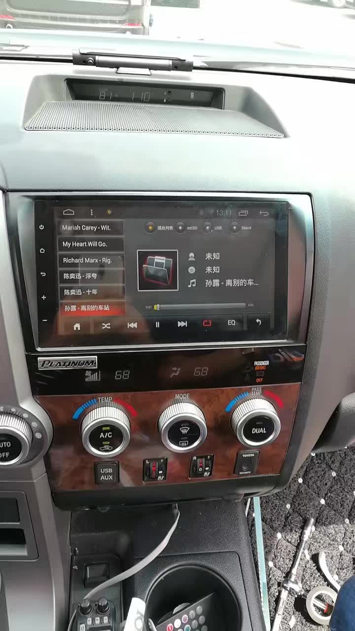 hight resolution of 9 android autoradio headunit head unit car stereo multimedia gps for toyota sequoia tundra 2010 2011 2012 2013 2014 2015 in car multimedia player from