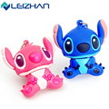 LEIZHAN Newest Pink&Blue Stitch USB Flash Drives USB 2.0 Flash Disk External Storage 4GB 8GB 16GB 32GB Pen Drive Pendrive Sticks