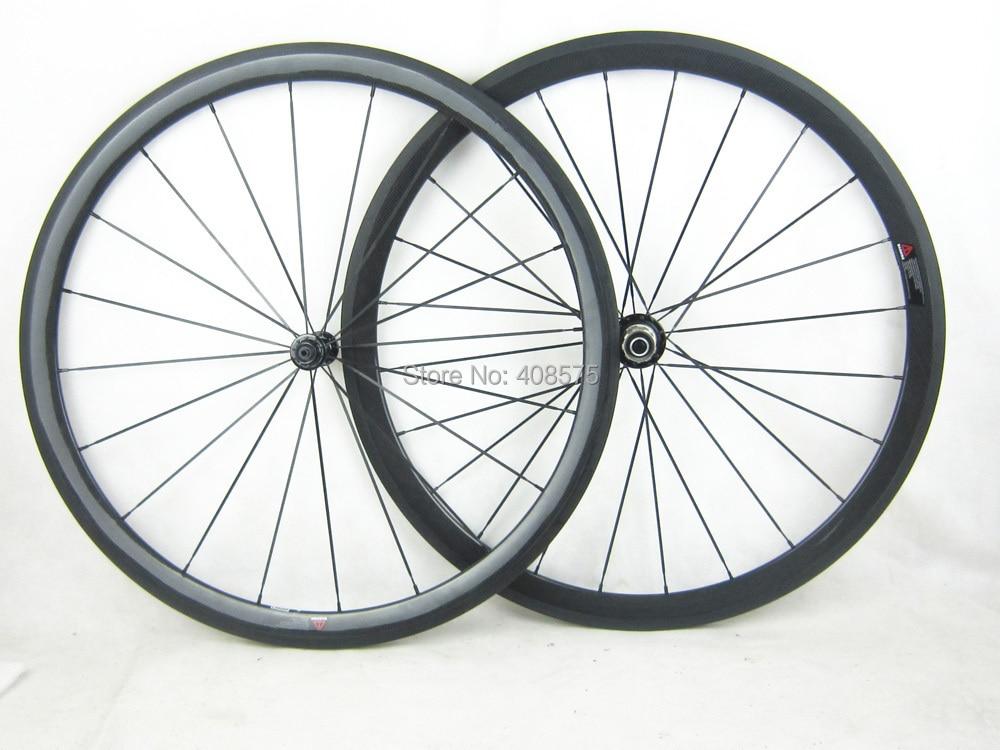 Super light 1180g wheel 38mm tubular 25mm width carbon road wheel 11 font b speed b