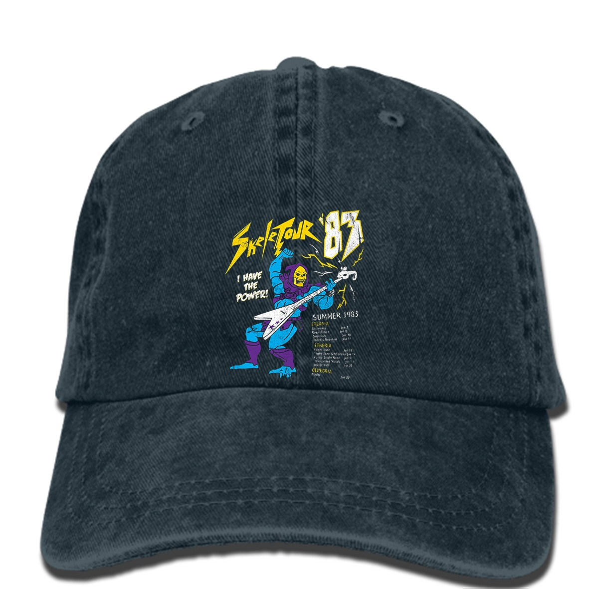 Detail Feedback Questions about hip hop Baseball caps Skeletor Rock Concert  Masters Of Universe Man Funny cap on Aliexpress.com  8c9e16fbe05