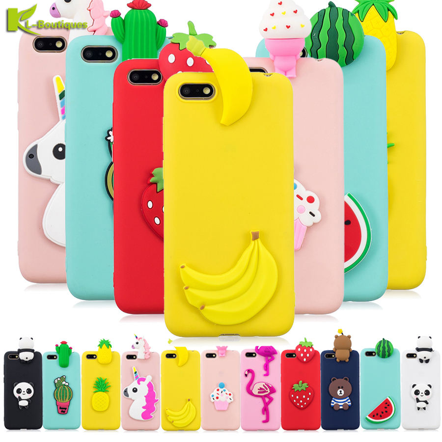 in vendita 89c33 61d0e US $3.09 16% OFF|For Huawei Y5 2018 Case Cover Huawei Y5 Prime 2018 3D  Cartoon Silicone Case For Huawei Y5 2018 Y 5 Prime 2018 Phone Bags  Fundas-in ...
