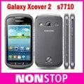 """S7710 Оригинальный Samsung Xcover 2 s7710 GPS Wi-Fi 5.0MP 4.0 """"Сенсорный Экран Dual Core Разблокирована Восстановленное Телефон"""