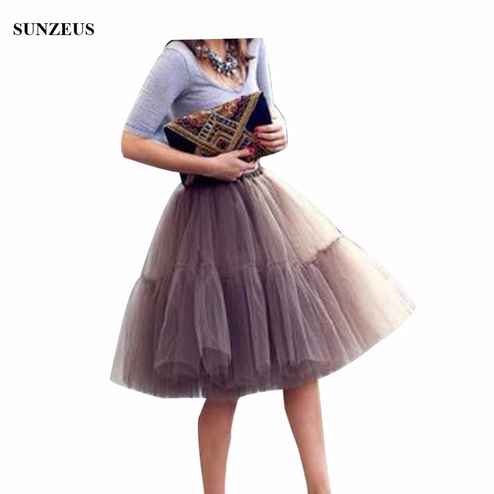 Hot Sale 5 Layers Tulle Petticoat Adult Tutu Skirts