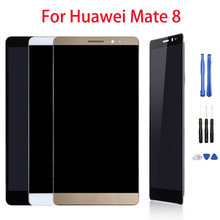 цена на 6.0 inch Touch Screen Display For HUAWEI Mate 8 Mate8 LCD Display Digitizer Assembly Replacement Parts 1920x1080 Free Tools