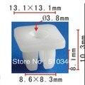 Se encaixa em 8.5mm 8.5mm buraco auto plastic clipes #10 tamanho do parafuso para Nissan 90189-06010 e caso para Honda 75521-611-0000