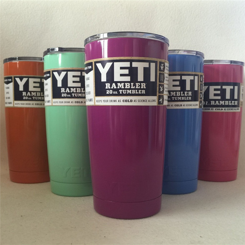 20oz <font><b>Yeti</b></font> Cup 304 Stainless Steel <font><b>Yeti</b></font> <font><b>Rambler</b></font> <font><b>YETI</b></font> Coolers <font><b>Rambler</b></font> <font><b>Tumbler</b></font> Double Walled Travel Mug <font><b>YETI</b></font> cup colster