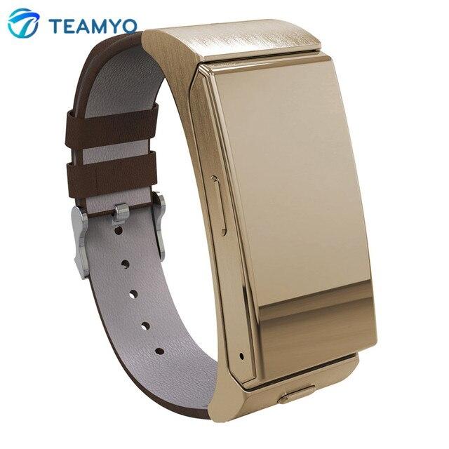 U mini Watch U20 MTK2502 Bluetooth & Headset Smart Talk Band Fitness Tracker Heart Rate Monitor Remote Camera for IOS Android