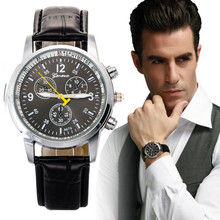 Top Brand Luxury Wristwatch Male Clock Wrist Watch Men Women Casual  Numeral Leather Quartz