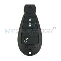 #4 מסע, גרנד צ 'ירוקי, מסע Fobik כפתור מפתח מרחוק 434 Mhz 3 P/N: 05026336AC עבור קרייזלר/Jeep/Dodge remtekey