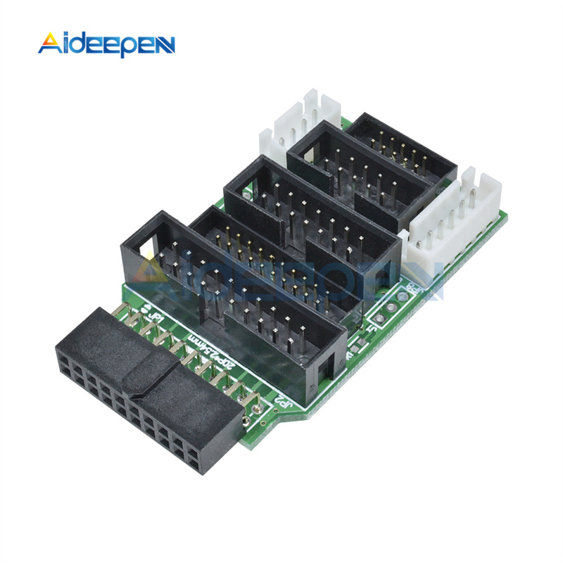 Multi-function Switching Board For ULINK2 Emulator V8 All-ARM JTAG Adapter Converter For TQ2440 MINI2440 Compatible 20/14/10PIN