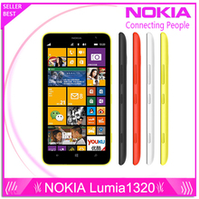 Nokia Lumia 1320 original brand top Lumia 1320 3G network with 5MP camera Windows Refurbishment mobile Phone with free gift