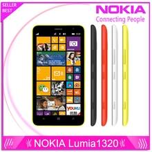 Nokia Lumia 1320 Оригинальный бренд Топ Lumia 1320 3 г сети с 5MP камеры Окна ремонт мобильный телефон с бесплатный подарок