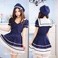 Японского Аниме Япония Девушка Сейлор Платье Школьная форма Леди Лолита Симпатичный Костюм Горничной Одежда Сексуальная Женщина Костюм