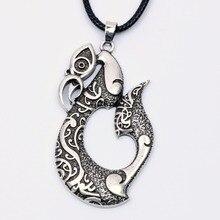 31956b89ace90 Pikorua Necklace Pendant Maori Twist Symbol Mask Manaia Koru Tribal New  Zealand Gift for Men Women Travelers Travel Souvenir