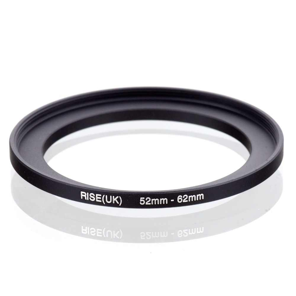 Originele Rise (Uk) 52 Mm-62 Mm 52-62 Mm 52 Te 62 Step Up Ring Filter Adapter Black