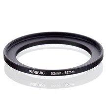 Оригинальный черный повышающий кольцевой фильтр адаптер RISE (Великобритания) 52 мм 62 мм 52 62 мм от 52 до 62