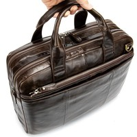 New Men's Man Business Laptop Bag For Men Briefcases Leather Bags Briefcase Bag Men's Genuine Leather Bags Male Travel Pocket
