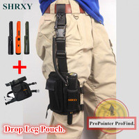 ShrxyPro Pinpointing Metal Detector GP pointer Gold Pinpointers Metal Detector Garrett Same Style with Drop Leg Pouch Pocket Set