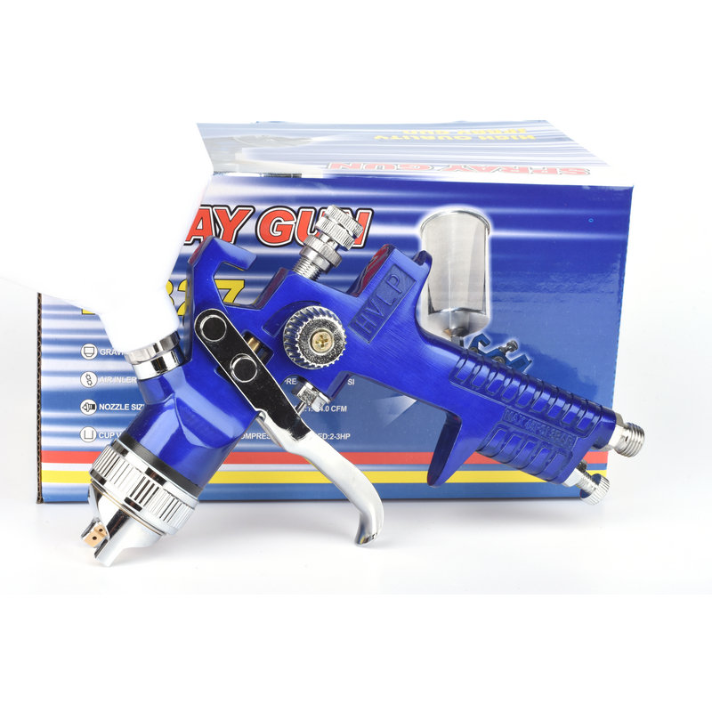 HVLP 1.4mm nozzle automobile primer spray gun paint high atomization pneumatic paint primer spraying gun e887g hvlp spray gun set suitable for spraying primer gravity feed with 1 4mm nozzle 600ml pot