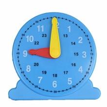 Два стежка детские часы обучающий инструмент для распознавания времени-часы обучающий инструмент Детские Обучающие часы модель математики
