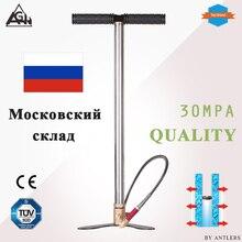 30Mpa 4500psi 3 Stage Hoge Druk Lucht Pcp Geweer Paintball Handpomp Met Filter Mini Compressor Niet Hill Gx