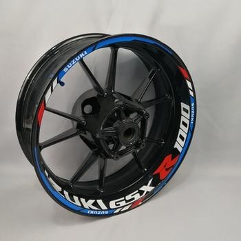 For Suzuki GSXR600  GSXR750 GSXR1000 motorcycles wheel stickers waterproof Reflective Rim decals  Front & Rear custom inner rim waase gsxr600 gsxr750 front page 8