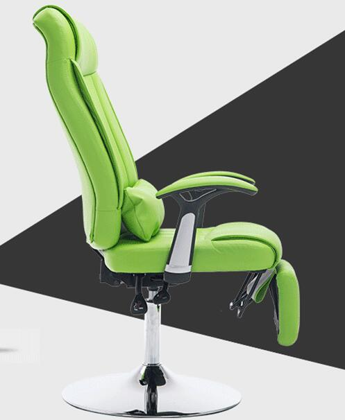 Reclining manicure chair. Office nap nap lounge chair. Lazy chair lift and make-up chair.3