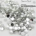 1000 pcs 2mm crystal 14 Facets Resin Round Rhinestone Sparkling Rhinestones Nail Art Decoration DIY N01
