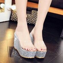 Superstar Shoes Woman Footwear Sandals Slip Tenis Flip Flops Super High Heels Women's Sandal Character Female Summer 2017 New