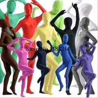 New Full Body Black Lycra Spandex Cosplay Clothes Skin Suit Catsuit Halloween Zentai Costumes Plus size XS XXXL