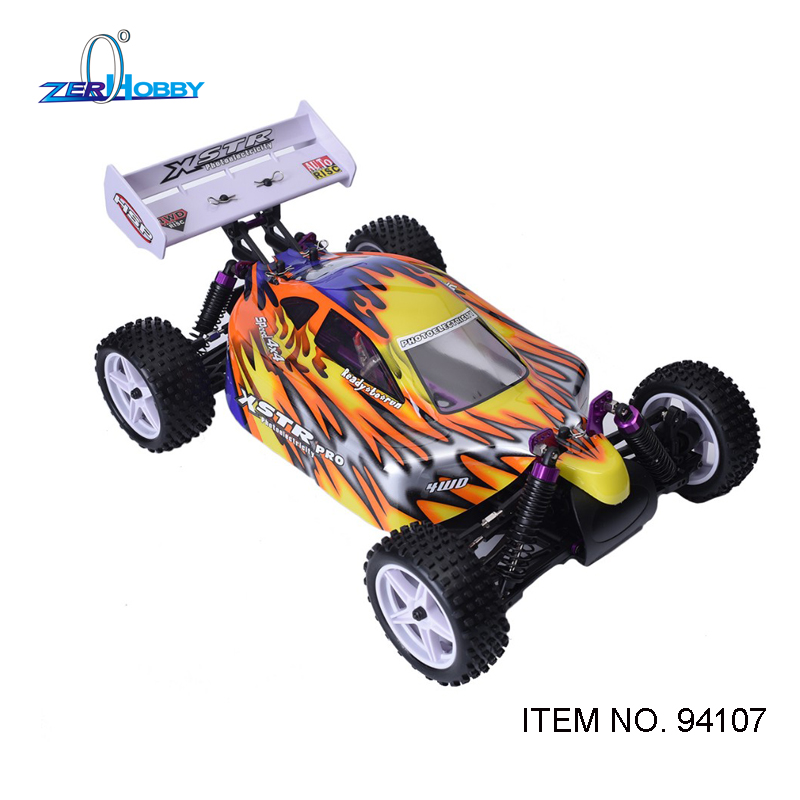 HSP Racing 94107 94107PRO Rc Car Electric Power 4wd 1/10 Scale Off Road Buggy XSTR High Speed Hobby Similar REDCAT Racing clutch bell double gears 16t 21t hsp 02023 1 10 nitro power rc car on off road buggy sonic xstr warhead fit redcat exceed