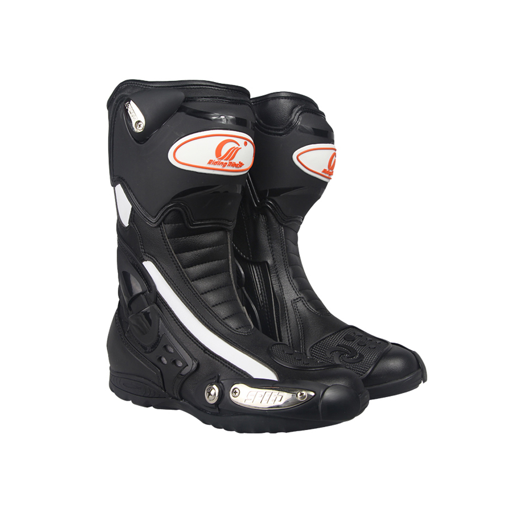 PRO-BIKER SPEED BIKERS Motorcycle Breathable Boots Moto Racing Riding Boots Motocross Leather Motorcycle Boots B1002