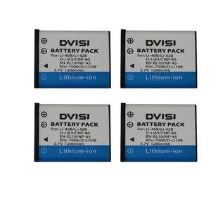 Image 5 - Аккумулятор для фотоаппарата OLYMPUS U700 U710 FE230 FE340 FE290 FE360 U1040 X915 VR330 FE5000
