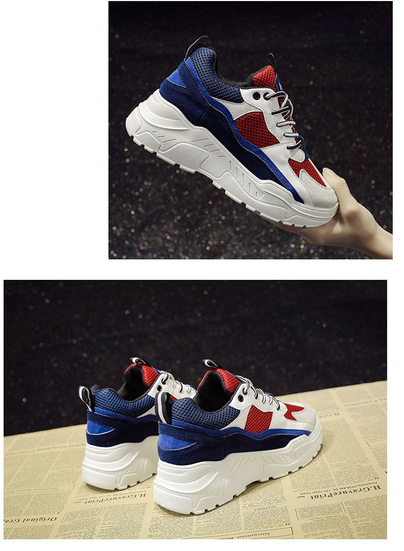Retro Basketball Shoes Platform Sneakers Casual Trainers