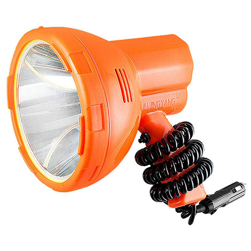 12V 1000m Fishing Lamp 50W Led Light Vehicle-Mounted LED Searchlight Super Bright Portable Spotlight For Camping,Car,Hunting