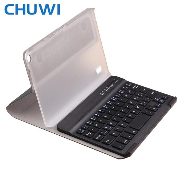 CHUWI Hi8/Vi8 Plus/Hi8 Pro Caja Del Teclado Del Bluetooth Teclado Inalámbrico con Estuche De Cuero PU