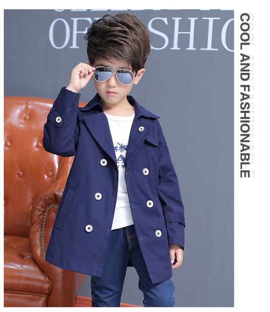 2016 autumn boy casual jacket big virgin Korean fashion windbreaker children's clothing for 2-11T