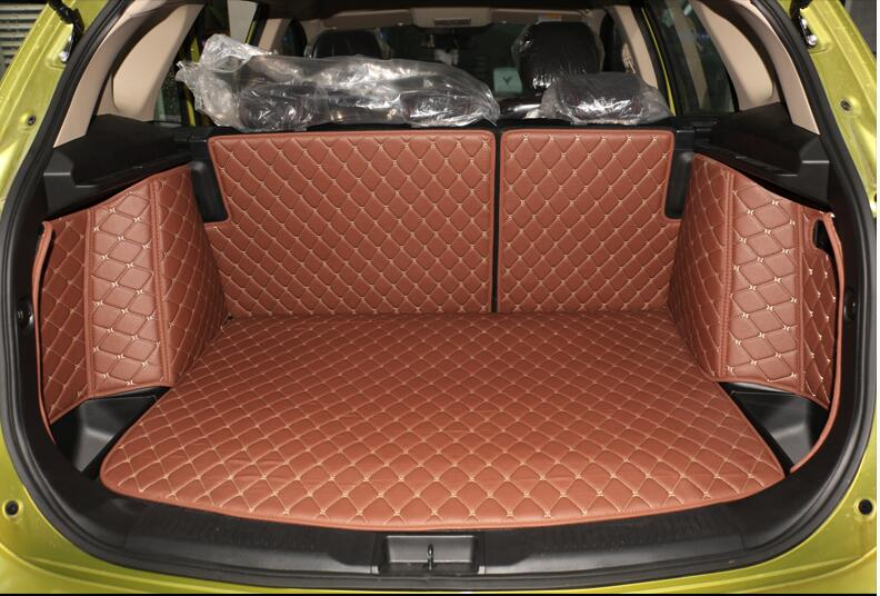Good quality! Special trunk mats for Suzuki S-cross 2017 durable boot carpets cargo liner mat for Scross 2016-2014,Free shipping
