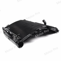 Radiator For Kawasaki Ninja ZX10R 2004 2005 Cooling Cooler Motorcycle Replacement Accessories ZX 10R ZX 10R 04 05 Aluminum Black