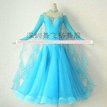 Modern Waltz Tango Ballroom Dance Dress, Smooth Ballroom Dress, Standard Ballroom Dress ,sizeS/ L/ M/ LL
