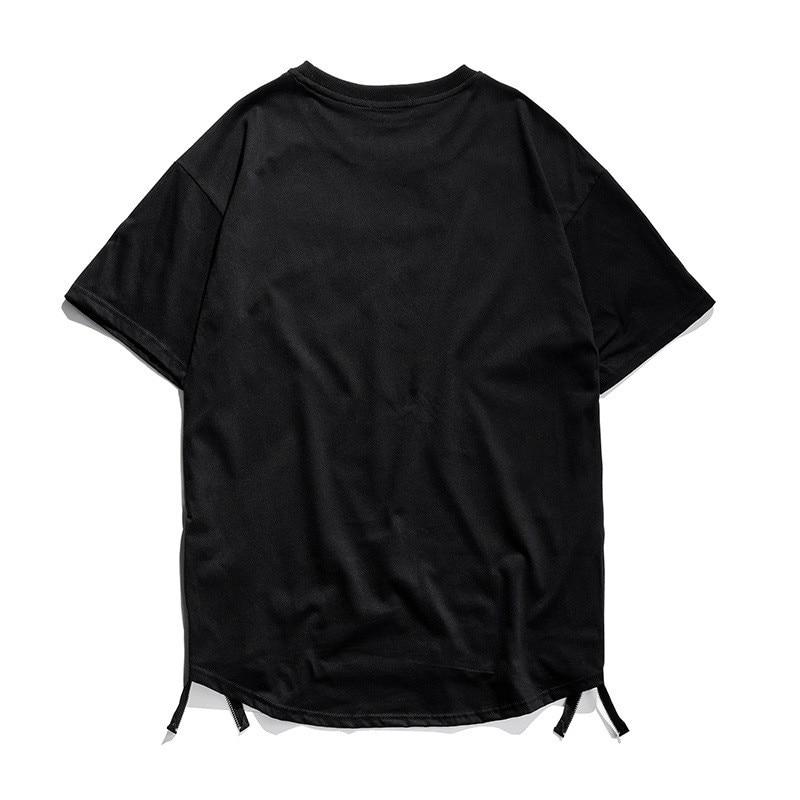 2018 kısa kollu T-shirt erkek Avrupa ve Amerika Birleşik Devletleri - Erkek Giyim - Fotoğraf 4