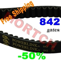 Gates PowerLink GY6 150cc CVT Belt 842 20 For 4 Stroke Engines For Scooter ATV Go