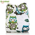 [Mumsbest] New Baby Washable Cloth Diaper Cover Blue Sky Cartoon Arrow Cloth Nappy Reusable Quick Drying Diapers Available3-13kg