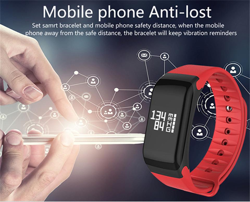 LETIKE Blood Pressure Smart Bracelet Sport Pedometer Fitness Tracker Wrist Smartband Pulse Measure Waterproof For IOS Android 9