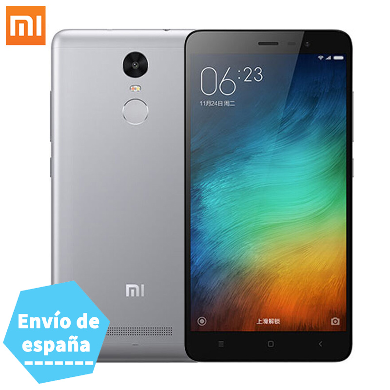 "Official Global Version Xiaomi Redmi Note 3 Pro Smartphone 2GB RAM 16GB ROM Snapdragon 650 5.5"" FHD 16.0MP Camera Fingerprint ID"