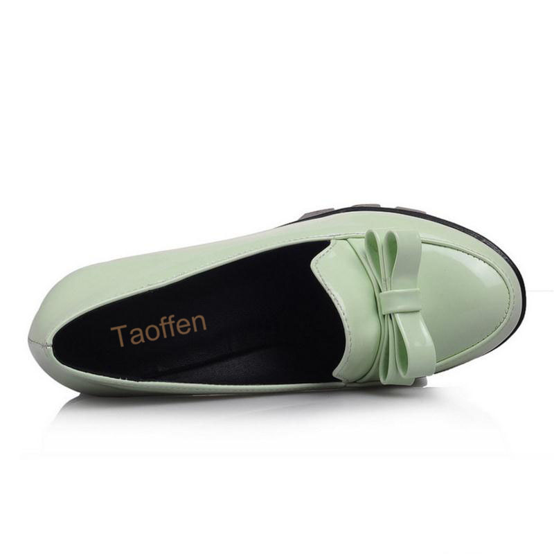 grueso zapatos Aditif.co.in Bowknot 4