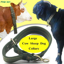 1 piece collar belt squeezer for cattle cow bovine dog canine sheep goat canvas veterinary equipment pasture ranch instruments