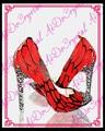 Aidocrystal сексуальная острым носом серебро горный хрусталь пятки красные туфли на каблуках женщина шпильках обувь королева партия платье обувь